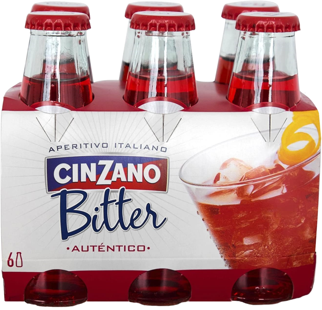 Pack 24 Botellas Bitter Cinzano 10 cl.