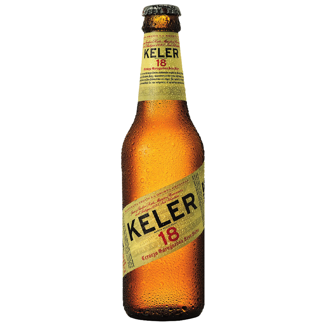 Keler 18, Botella 25 cl. (24 Unid.) 6,2% vol.