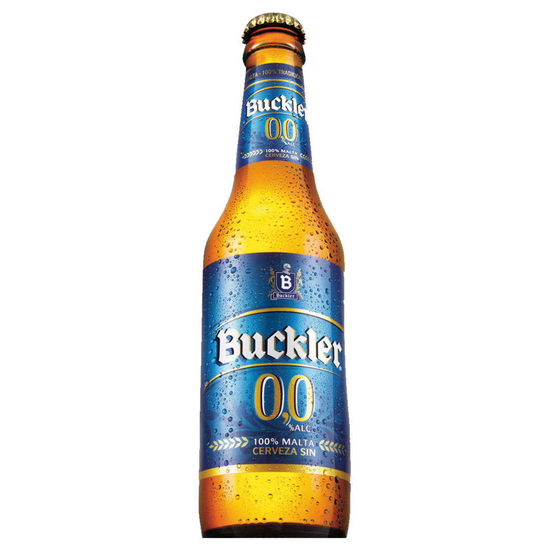 Buckler Sin Alcohol, Botella 25 cl. (24 Unid.) 0,0% vol.