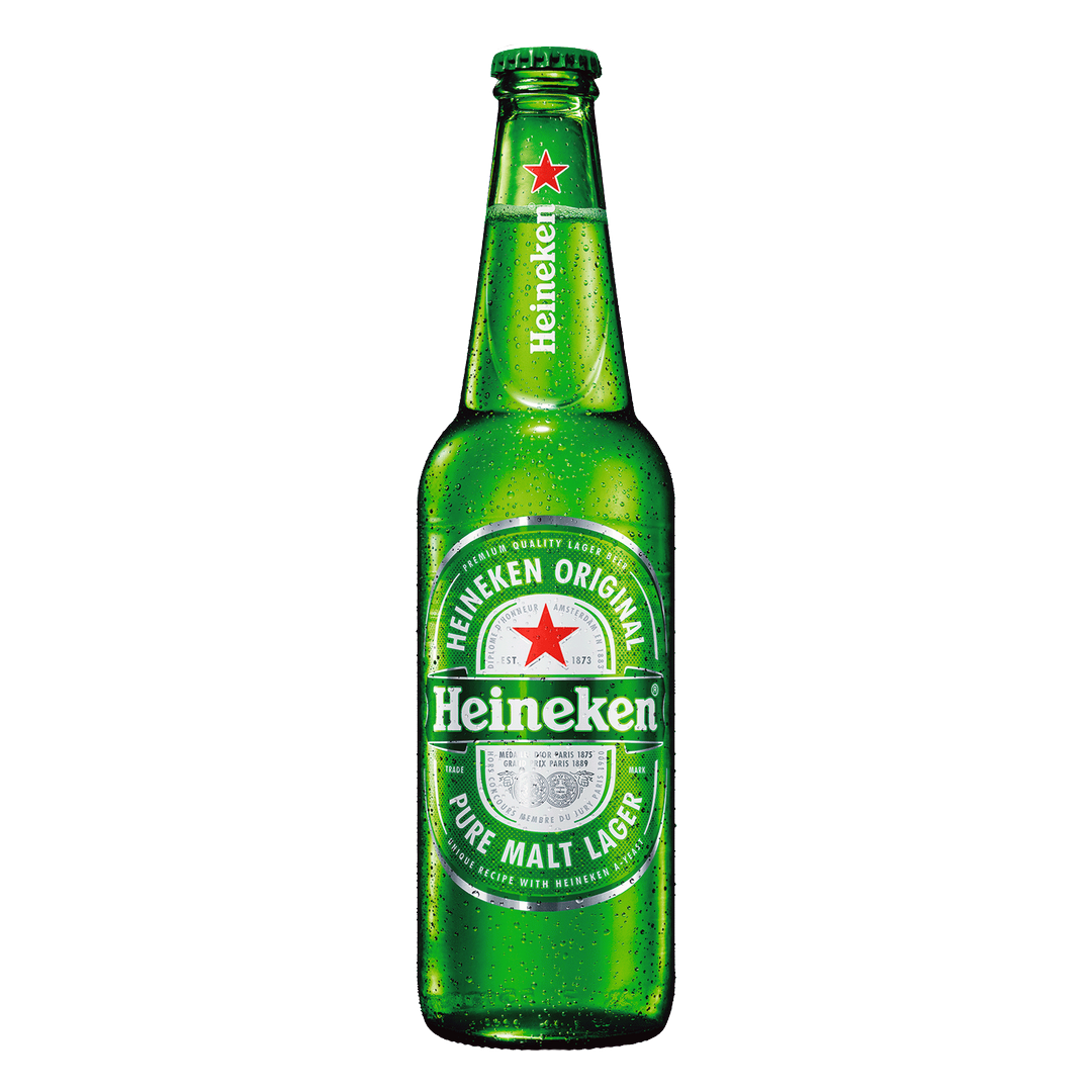 Heineken, Botella 33 cl. (24 Unid.)  5% vol.
