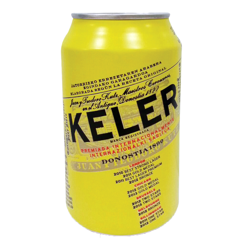 Keler, Lata 33 cl. (24 Unid.) 6,2% vol.